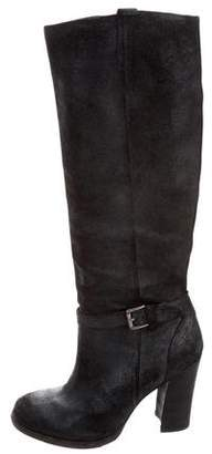 Belle by Sigerson Morrison Metallic Knee-High Boots
