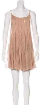 AllSaints Pleated Mini Dress