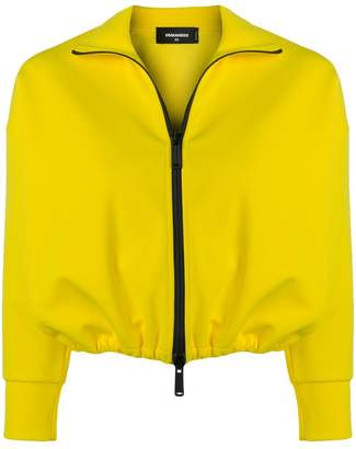 DSQUARED2 cropped sports jacket