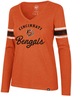 '47 Women's Cincinnati Bengals Spirit Script Long Sleeve T-Shirt