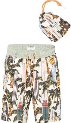 Scotch & Soda Tropical Print Swim Shorts The Pool Side