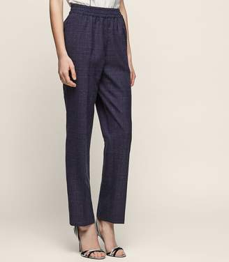 Reiss Cora Trouser Elasticated Tailored Trousers