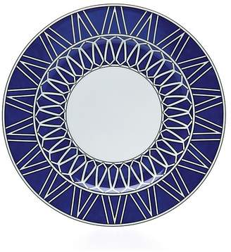 Bloomingdale's Royal Limoges White Star Dinner Plate