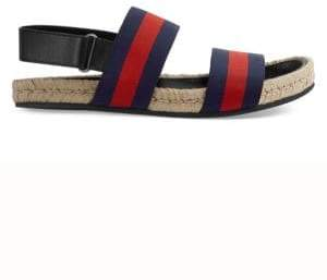 Gucci Web Strap Sandals