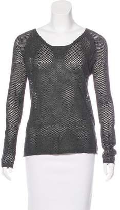 Rag & Bone Open Knit Raglan Sleeve Sweater