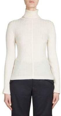 Chloé Wool Rib-Knit Turtleneck