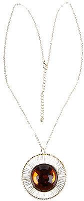 Aspherical Medallion Necklace