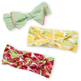 Baby Essentials Newborn/Infant Girls) 3-Pack Watermelon Headbands