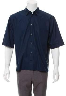 Marni Two-Tone Button-Up Shirt