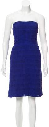 Yigal Azrouel Silk Strapless Dress