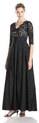 Eliza J Women's Lace Surplice Gown $248.99 thestylecure.com