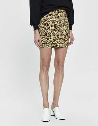 Farrow Mindy Cheetah Print Miniskirt