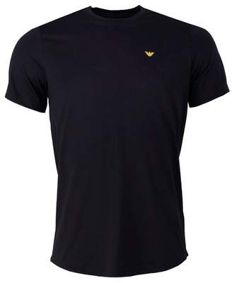 Giorgio Armani Rear Eagle Logo Crew Neck T-shirt