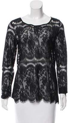 DAY Birger et Mikkelsen Fringe-Trimmed Lace Top