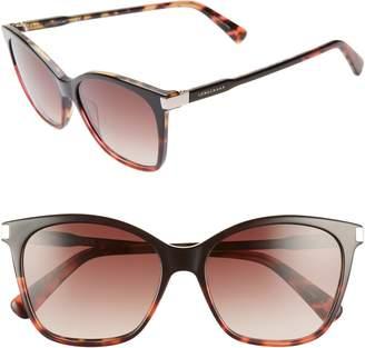f0754f38575 Longchamp Le Pliage 54mm Butterfly Sunglasses