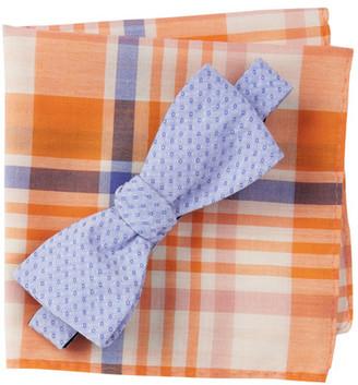 Original Penguin Blyth Solid Bow Tie & Pocket Square 2-Piece Set $55 thestylecure.com