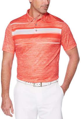 PGA Tour TOUR Easy Care Short Sleeve Geo Linear Polo Shirt