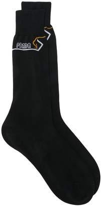 Prada embroidered socks