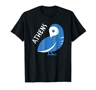 Athens t-shirt cute Owl Greece Souvenir