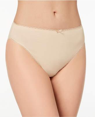 Charter Club Pretty Cotton Hi Cut Bikini, Created for Macy's