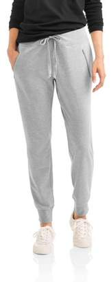 Mia Kaye Women's Strut Joggers with Zipper Pocket Detail in Cozy French Terry