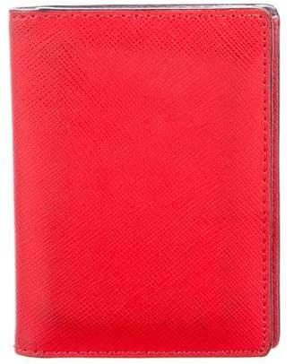 Jack Spade Textured Leather Card Holder