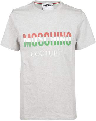 Moschino Couture! Colored Logo T-shirt