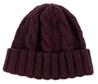 Moncler Wool-Blend Knit Beanie