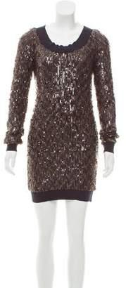 Rachel Zoe Sequin Embellished Mini Dress