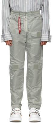 Landlord Silver Alpha Flight Denim Trousers