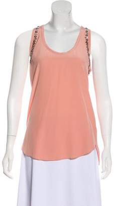 Rebecca Taylor Silk Sleeveless Top