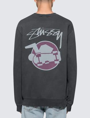 Stussy Skateman Pig. Dyed Crewneck