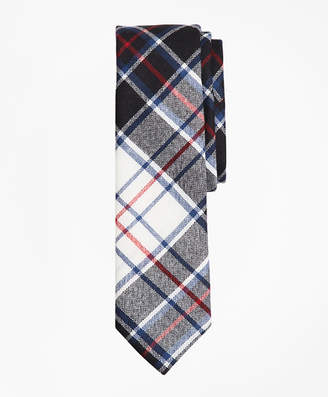 Brooks Brothers Plaid Wool Tie