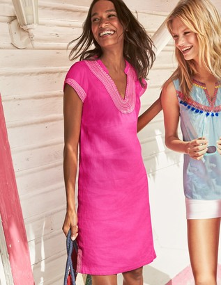Boden Yasmin Embroidered Linen Tunic
