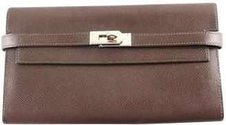 Hermes Kelly leather wallet
