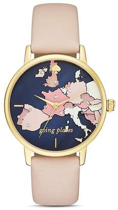 kate spade new york Metro Going Places Watch, 34mm $195 thestylecure.com