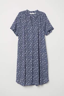 H&M Short-sleeved Dress - Blue