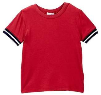 Splendid Short Sleeve Striped Tee (Toddler Boys)