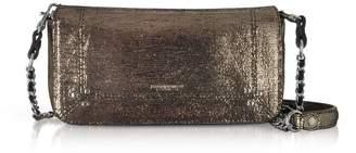 Jerome Dreyfuss Bob Metalllic Leather Shoulder Bag