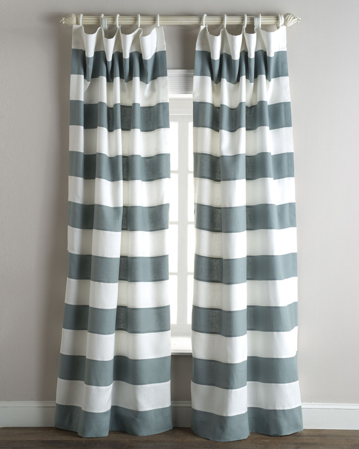 "Legacy Tuscany"" Stripe Curtains"