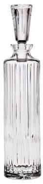 Godinger Ceska Prism Tall Cylinder Decanter