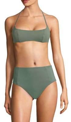 Solid and Striped X Swim Team Jessica Bikini Top