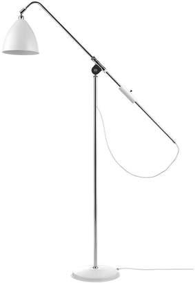 Bestlite BL4 Floor Lamp - Matt White/Chrome