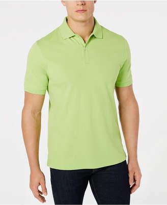 Club Room Men Interlock Short-Sleeve Polo