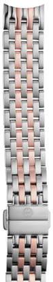 Michele Sidney 18mm Two-Tone Watch Bracelet