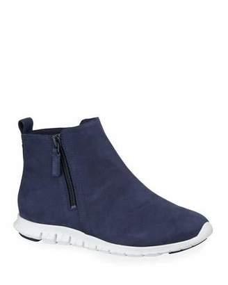 Cole Haan Zerogrand Waterproof Zip Booties, Blue
