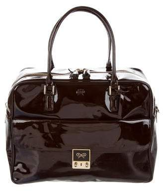 ac7a357ab6c2 Pre-Owned at TheRealReal · Anya Hindmarch Patent Leather Handle Bag