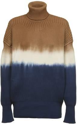 Sonia Rykiel Sonia By Dip Dyed Sweater