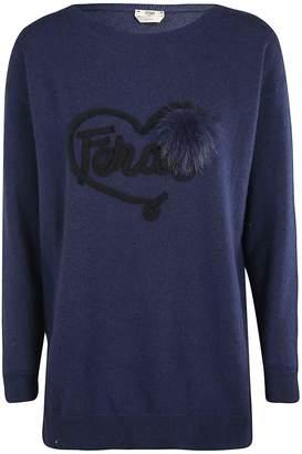 Fendi Logo Patch Sweater