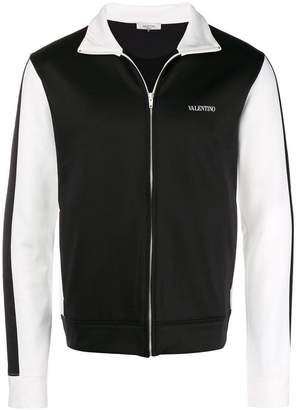 Valentino two tone zipped jacket